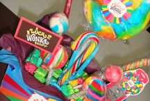 willy wonka party styling ideas
