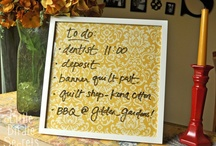 Organized / by Ashley Lemaster