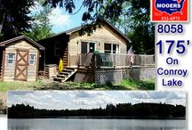SOLD | 119 West Conroy Lake Monticello ME 04760 / Maine Lake Property, Like The Log Look? info@mooersrealty.com 207.532.6573