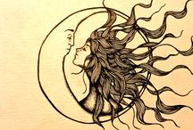 sun and moon / by Isabel Scarlett