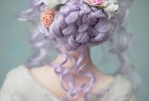 Peinados preciosos para muñecas
