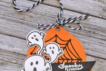 Halloween / Spooktacular ideas for ghoulish greetings and projects.