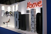 Aboveline // Our Stand Designs / Aboveline stands we have designed for various trade shows and events.