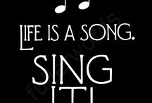life is a song sing it!