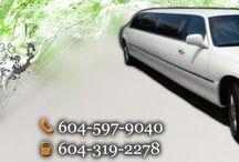 vancouver wedding limo service