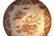Antiques / transferware, china, glass, jewelry Victorian to Mid Century
