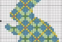 Cross Stitch Easter Charts