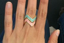 Stacking Ring / A Bestseller: the popularity of chevrons