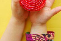 Kwiaty, prace z papieru