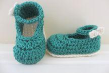 Crochet babybooties tutorials