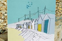 Beach Huts on Folksy  / a selection of everybody's dream, a lovely beach hut by the sea!