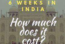 Itineraray for India
