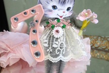 Vintage Kitty Birthday