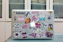 MacBook Sticker Ideas