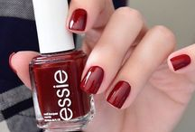 Nails, red