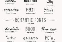 Arts, fonts, designs