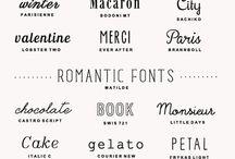 Inspiration - Typography