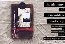 The Alchemy of Assemblage / assemblage & collage inspiration
