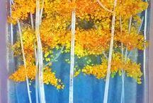 Árboles y cuadros