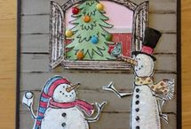 Cottage window cards