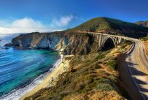 TRAVEL: Amazing Drives and Road Trips / Pacific Coast Highway, State Road 1, Highway 1, California, Road Trip.