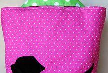 kutyàs tàska rózsaszín