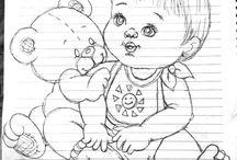 riscos de bebê
