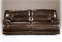 Real Leather Reclining Furniture / This includes sofas, love seats, recliners, and sectionals.