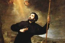 St Francis Xavier / St Francis Xavier is the patron of our Church - he is one of hte founding members of the Society of Jesus , the Jesuits along with St Ignatius of Loyola and St Peter Faber. http://www.gardinerstparish.ie/history/st-francis-xaviers-story