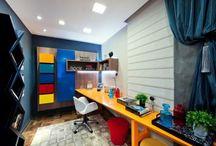 Decoração de escritórios e home offices / Veja vários home offices e escritórios em todos os estilos e tamanhos, além de dicas para o seu