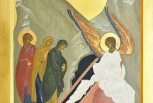 Ingerul vestind mironositelor învierea Domnului