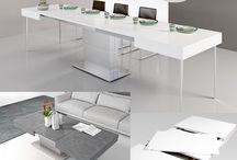Tavolino trasformabile sala