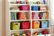 Organización de juguetes