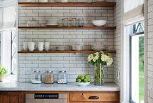 Interiors | Kitchen Shelving