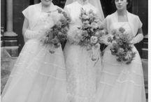 50's & 60's Wedding & Prom Flowers