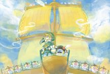 Legend of Zelda. Sailors, pirates and ships.