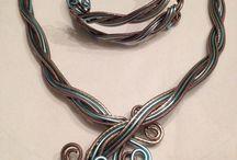 Wire art creations / Handgemaakte aluminium sieraden!