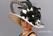 Victorian Hats / This was set up for research for the hat Cisney tried on in the store in Calculate Risk.