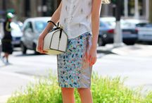 Trend Focus: Embellishments / This season more is less with sequins, beading and studded embellishments key for spring! Add some sparkle and shine to your evening attire with sequin jackets, beaded shift dresses and embellished mini skirts. Contrast the femininity of the embellishing with pops of neon and leather accents.