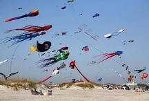 Cape Fear Kite Festival / Come watch as we paint the Cape Fear Sky!  Flyers from all over will be joining us for our Annual Cape Fear Kite Festival, held in November on Wrightsville Beach.  We will fill the sky with color from countless kites of unbelievable sizes and styles!