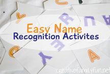 Preschool--Name Recognition