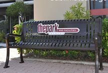 Custom Logo Benches / See our exciting new custom logo benches with sublimated print logos that really POP!