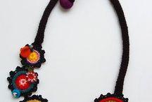 jóias em crochet