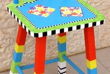 Art - Folk / Painted Furniture