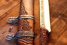 Viking / Blandet viking.  Tøj, smykker, våben, telte, møbler, udstyr mm