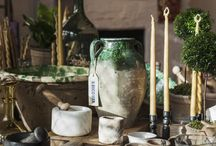 Tablescapes / Inspiration for Tablescapes and Table Design