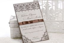 Damask / Wedding Invitation