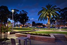 Urban Lighting / Creative yet functional lighting used enhance outdoor environments as well as making them safe and accessible for night time use.