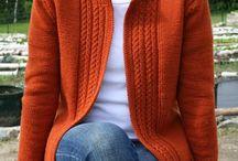 Knitting patterns - cardigans