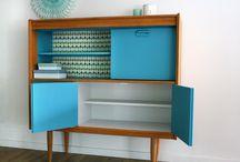 Muebles intervenidos, restaurados
